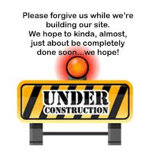 under construction forgive us